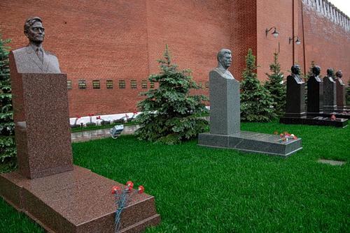 захоронения Кремлевской стены