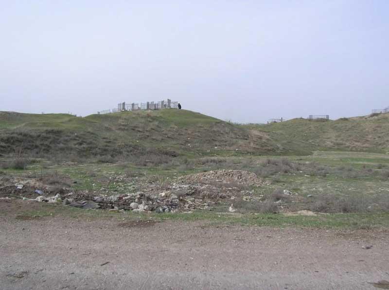корейское кладбище