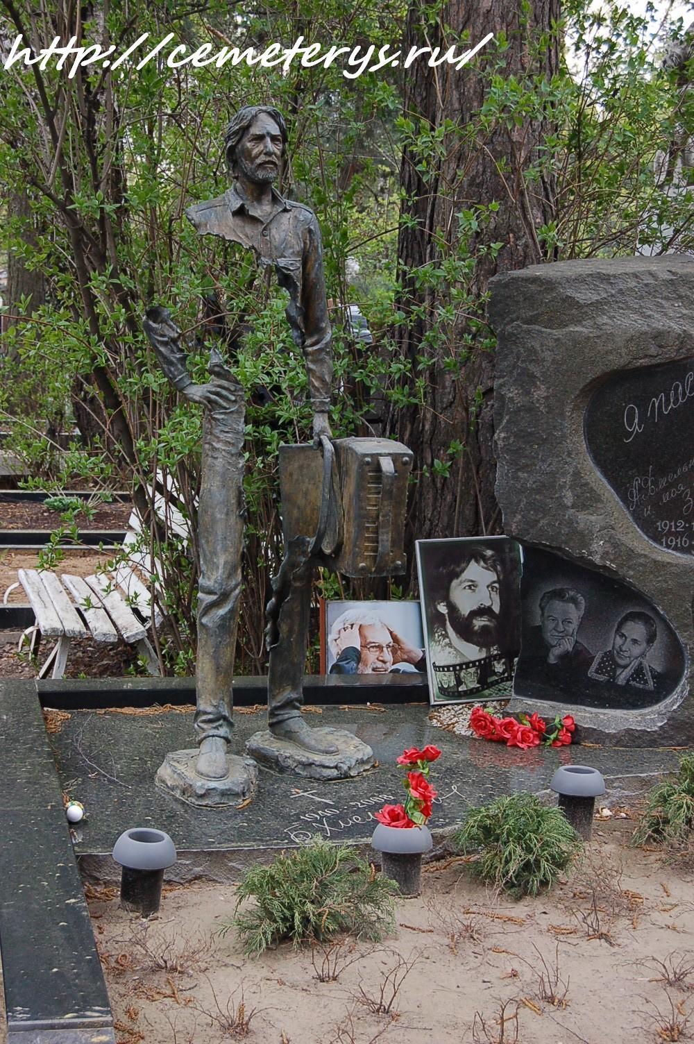 могила Бориса Хмельницкого на Кунцевском кладбище в Москве (фото Дмитрия Кондратьева)