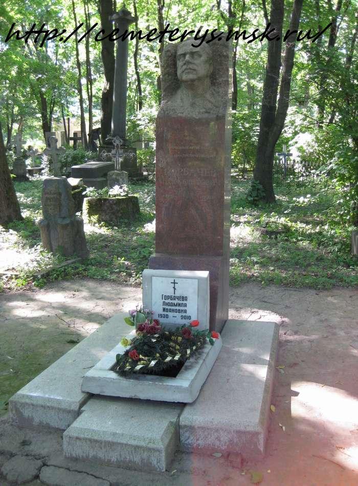 могила Игоря Горбачева на кладбище Литераторские мостки в Санкт - Петербурге ( фото Дмитрия Кондратьева)
