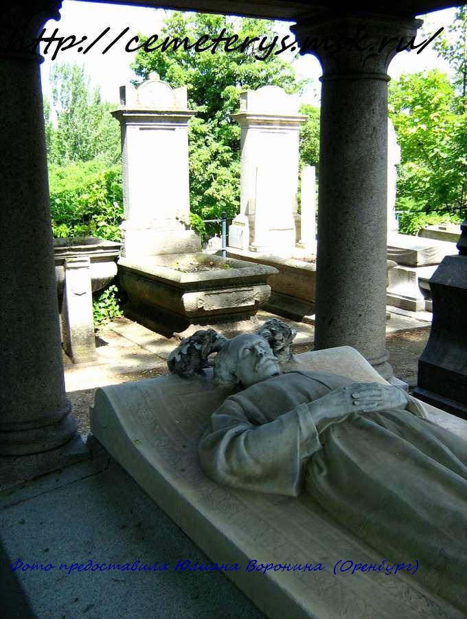 могила Александра Дюма сына. ( фото Юлианы Ворониной)