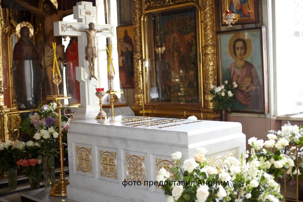 могила Патриарха Алексия II