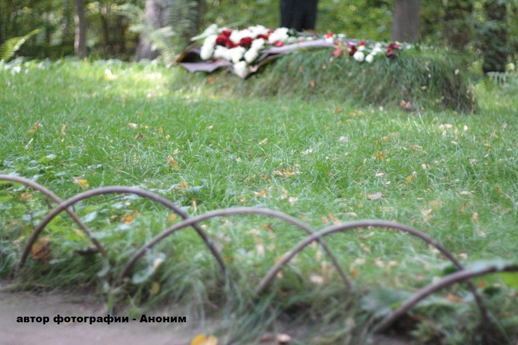 могила Льва Толстого в Ясной поляне