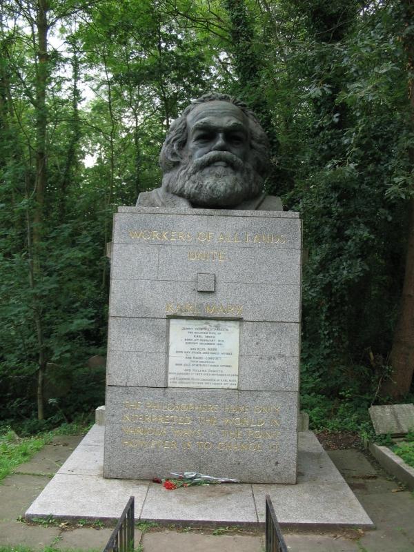 могила К. Маркса