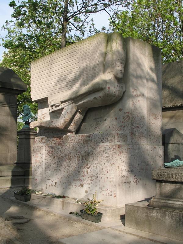 могила О. Уайльда