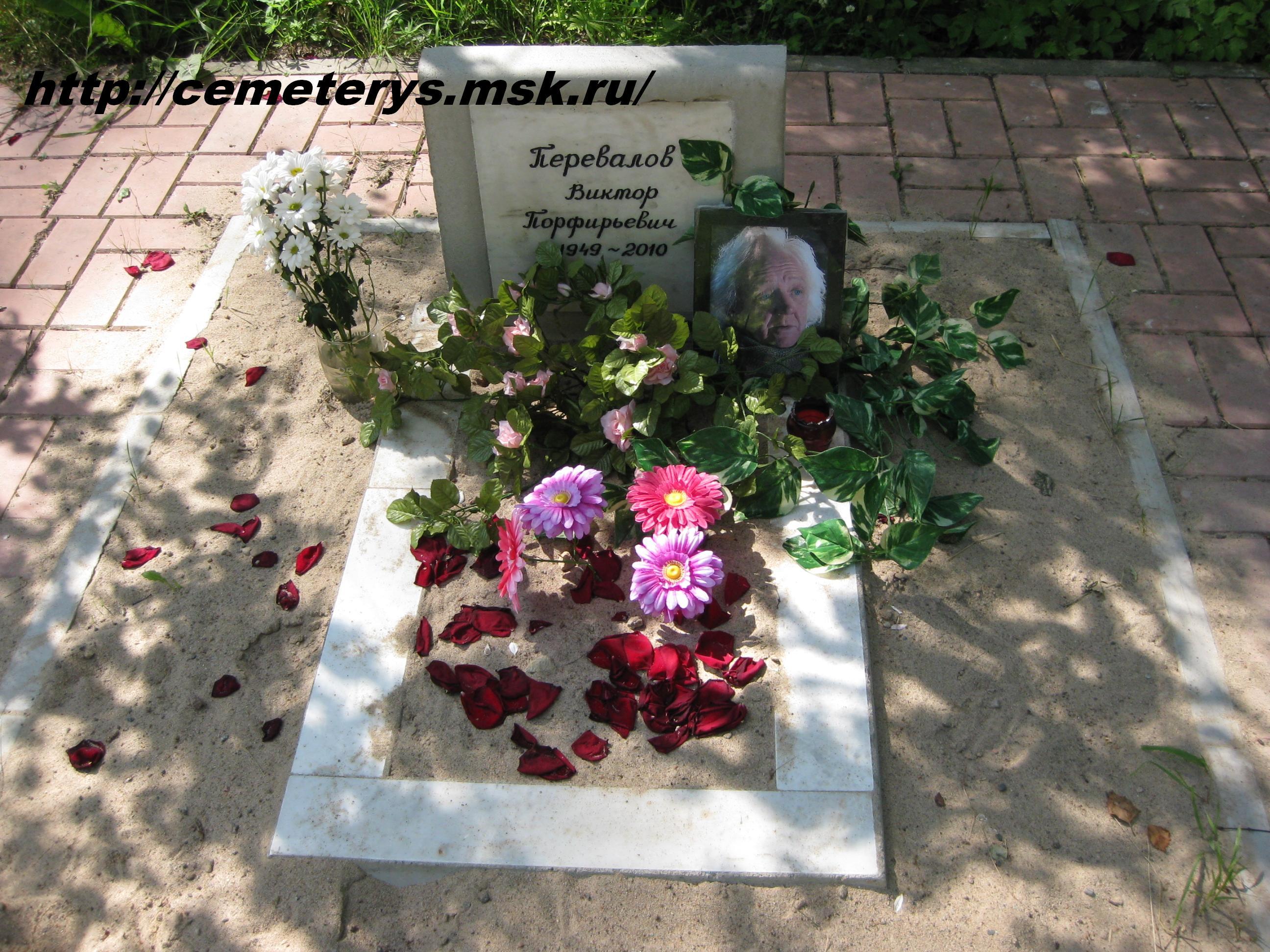 могила Виктора Перевалова вид могилы до установки памятника ( фото Дмитрия Кондратьева)